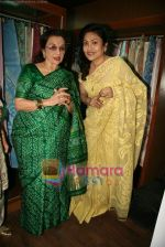 Asha Parekh at the Launch of Shubhrata Dutta_s Jamdani Saree collection in Juh, Mumbai on 23rd March 2010 (13).JPG