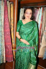 Asha Parekh at the Launch of Shubhrata Dutta_s Jamdani Saree collection in Juh, Mumbai on 23rd March 2010 (16).JPG