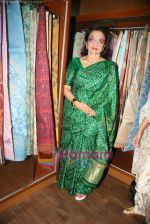Asha Parekh at the Launch of Shubhrata Dutta_s Jamdani Saree collection in Juh, Mumbai on 23rd March 2010 (17).JPG