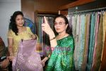 Asha Parekh at the Launch of Shubhrata Dutta_s Jamdani Saree collection in Juh, Mumbai on 23rd March 2010 (7).JPG
