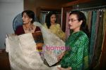 Asha Parekh at the Launch of Shubhrata Dutta_s Jamdani Saree collection in Juh, Mumbai on 23rd March 2010 (8).JPG