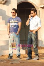 Irrfan Khan, Rannvijay Singh of the sets of MTV Roadies in Andheri on 23rd March 2010 (2).JPG