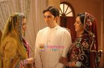 Hema, Rekha with Luv Sinha in the still from movie Sadiyaan~0.jpg