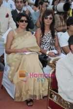 Neetu Chandra at D B Realty Southern Command Polo Cup Match in Mahalaxmi Race Coarse on 27th March 2010 (2).JPG
