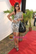 Neetu Chandra at D B Realty Southern Command Polo Cup Match in Mahalaxmi Race Coarse on 27th March 2010 (7).JPG