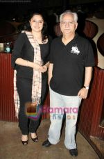 Ramesh Sippy, Kiran Juneja at Sudhir Mishra_s IIFW in Blue Frog on 29th March 2010 (2).JPG