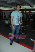 Ruslaan Mumtaz at the launch of  Snap 24-7 Gym in Malad, Near Croma on 29th March 2010 (3).JPG