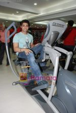 Ruslaan Mumtaz at the launch of  Snap 24-7 Gym in Malad, Near Croma on 29th March 2010 (7).JPG