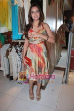 Shazahn Padamsee at Neeta Nishka Lulla summer preview in Samsara on 29th March 2010 (9).JPG