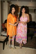 Bhagyashree, Sheeba at the Launch of Nisha Sagar_s Summer wear collection in Juhu on 30th March 2010 (2) - Copy.JPG