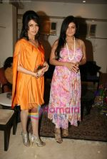 Bhagyashree, Sheeba at the Launch of Nisha Sagar_s Summer wear collection in Juhu on 30th March 2010 (5) - Copy.JPG