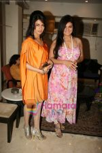 Bhagyashree, Sheeba at the Launch of Nisha Sagar_s Summer wear collection in Juhu on 30th March 2010 (6) - Copy.JPG