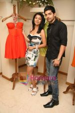 Gurmeet Choudhary and Debina Bonerjee at the Launch of Nisha Sagar_s Summer wear collection in Juhu on 30th March 2010 (2).JPG