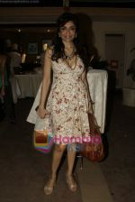 Queenie Dhody at Maheka Mirpuri_s Summer white collection launch in Prabhadevi, Mumbai on 30th March 2010 (2).JPG