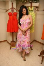 Sheeba at the Launch of Nisha Sagar_s Summer wear collection in Juhu on 30th March 2010 (6).JPG