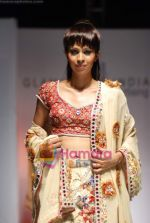 Model walks the ramp for Umair Zafar show in Rennaisance Club on 31st March 2010 (72).JPG