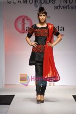 Model walks the ramp for Umair Zafar show in Rennaisance Club on 31st March 2010 (86).JPG