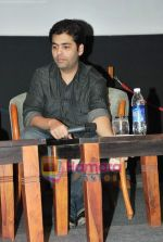 Karan Johar at Whistling Woods in Goregaon on 31st March 2010 (15).JPG