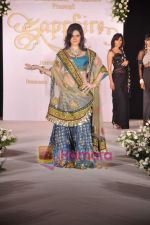 Zarine Khan walks the ramp for Neelam and Nriti Shah on 1st April 2010 (2).JPG