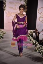 walks the ramp for Neelam and Nriti Shah on 1st April 2010 (39).JPG