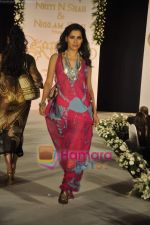 walks the ramp for Neelam and Nriti Shah on 1st April 2010.JPG