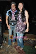 Yash and Gauri Tonk at Geet and Odhani - Star One serials_s screening in Kino_s Cottage on 5th April 2010 (20).JPG