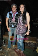 Yash and Gauri Tonk at Geet and Odhani - Star One serials_s screening in Kino_s Cottage on 5th April 2010 (2).JPG