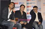 Arjun Rampal, Sajid Khan, Sajid Nadiadwala at Housefull-ICC T20 World Cup media meet Taj Lands End, Bandra, Mumbai on 14th April 2010 (32).JPG