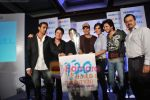 Arjun Rampal, Sajid Khan, Sajid Nadiadwala, Akshay Kumar, Lara Dutta, Ritesh Deshmukh at Housefull-ICC T20 World Cup media meet Taj Lands End, Bandra, Mumbai on 14th April 2010 (5).JPG