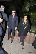 Saif Ali Khan at Fardeen Khan_s sister Laila Khan_s wedding reception to Frahan Furniturewala in Taj Land_s End on 16th April 2010 (2).JPG