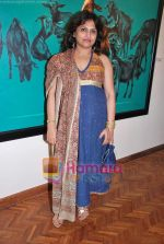Ananya Banerjee at Mritunjay Mondal_s exhibition in India Fine Art on 23rd April 2010 (3).JPG