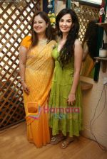 Ayesha Jhulka, Rukhsar at the Launch of Ayesha Jhulka_s second branch Anantaa spa saloon in Andheri on 25th April 2010 (4).JPG