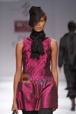 Model walk the ramp for Rahul Reddy at Wills India Fashion Week day 5 on 29th March 2010 (11).JPG