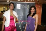 Pooja Chopra and Ekta Chaudhary at World Gold Council  launch of Collection G in Atria Mall on 29th April 2010 (2).JPG