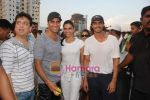 Arjun Rampal, Deepika Padukone, Akshay Kumar, Sajid Nadiadwala at Housefull cricket match in Goregaon on 1st May 2010 (4).JPG