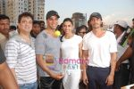 Arjun Rampal, Deepika Padukone, Akshay Kumar, Sajid Nadiadwala at Housefull cricket match in Goregaon on 1st May 2010 (8).JPG
