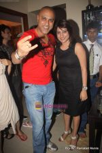 Baba Segal with ashima at Vikrum Kumar_s birthday Party in Mumbai on 12th May 2010.JPG