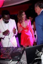 Will I am, Cheryl Cole and Fawaz Gruosi attend the de Grisogono CRAZY CHIC EVENING cocktail party at the Hotel Du Cap Eden Roc on May 18, 2010 in Antibes, France (2).JPG