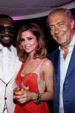Will I am, Cheryl Cole and Fawaz Gruosi attend the de Grisogono CRAZY CHIC EVENING cocktail party at the Hotel Du Cap Eden Roc on May 18, 2010 in Antibes, France (3).JPG