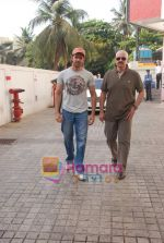 Hrithik and Rakesh Roshan spotted at PVR, Juhu on 20th May 2010 (2).JPG