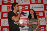 Hrithik Roshan and Barbara Mori at BIG FM Studios to greet the winners of Love Unlimited contest on 21st May 2010 (15).JPG