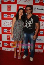 Hrithik Roshan and Barbara Mori at BIG FM Studios to greet the winners of Love Unlimited contest on 21st May 2010 (2).JPG