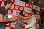 Hrithik Roshan and Barbara Mori at BIG FM Studios to greet the winners of Love Unlimited contest on 21st May 2010 (35).JPG