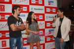 Hrithik Roshan and Barbara Mori at BIG FM Studios to greet the winners of Love Unlimited contest on 21st May 2010 (7).JPG