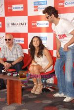 Hrithik Roshan, Barbara Mori, Rakesh Roshan at Kites promotional event in R City Mall and IMAX on 22nd May 2010 (13).JPG