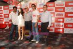 Hrithik Roshan, Barbara Mori, Rakesh Roshan, Anurag Basu at Kites promotional event in R City Mall and IMAX on 22nd May 2010 (4).JPG
