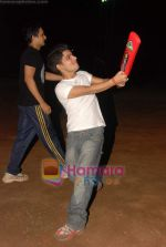 Vineet Singh at celebrity cricket match in Ritumbara College on 25th May 2010 (6).JPG