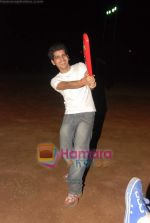 Vineet Singh at celebrity cricket match in Ritumbara College on 25th May 2010 (2).JPG