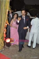 subrato roy with wife swapna at the wedding for Mushtaq Sheikh_s sister Najma in Pali Naka, Bandra on 26th May 2010.JPG