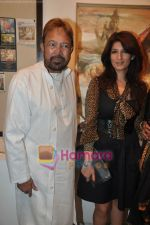 Twinkle Khanna and Rajesh khanna inaugurate Prithvi Soni exhibition in Jehangir Art Galery, Mumbai on 27th May 2010 (11).JPG